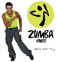 concept zumba fitness